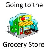 free social stories, going to the grocery store