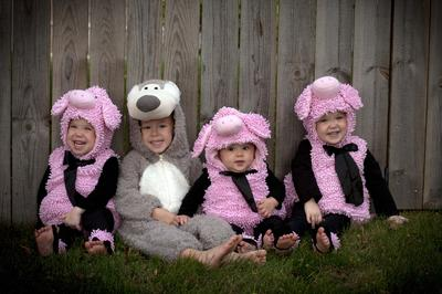 Big Bad Wolf and the Three Little Pigs  sc 1 st  Child Behavior Guide & Halloween Costume Contest 2012