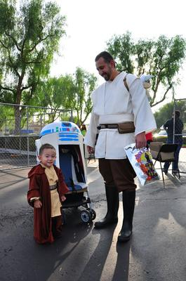 Jedi and his Jedi-in-Training
