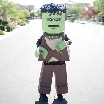 Lego Frankenstein Costume