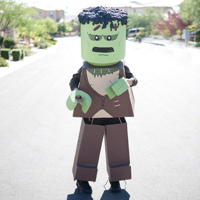 Coolest Lego Frankenstein