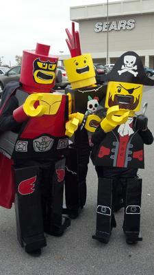 Lego Kids Costumes