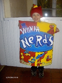Noah As Wonka Nerds : )