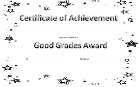 Certificates For Children Free Printable Kid Awards