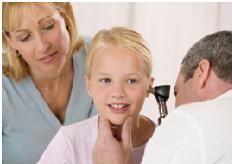 girl getting screened for auditory processing disorder