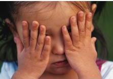 child displaying symptom of lack of social skills seen in childhood disintegrative disorder