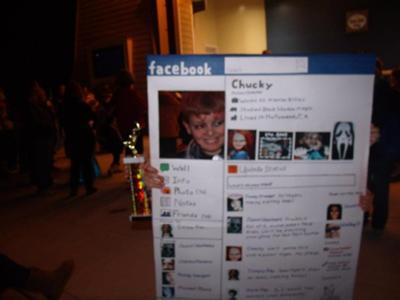 Chucky's Facebook page