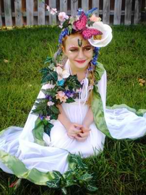 Mother Nature Halloween Costum