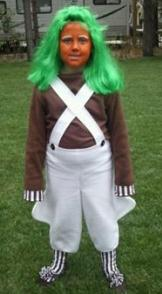 Oompa Loompa Halloween Costume