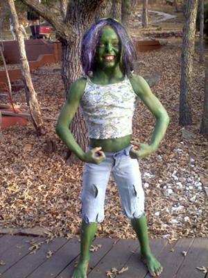 Pretty Princess Turns Green!