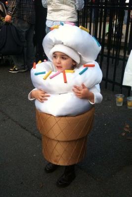 Zoey the Ice Cream Cone!