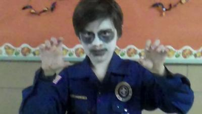 Zombie Cub scout!